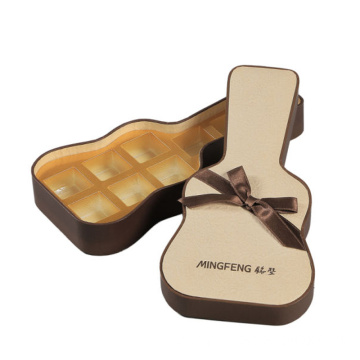 Guitar Shape Packaging Christmas Gift Box Chocolate Box