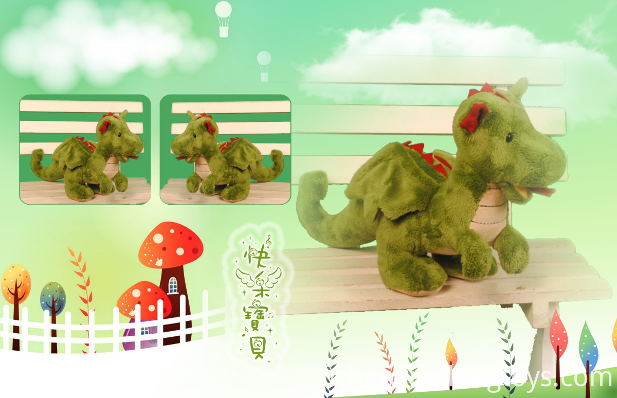 Cute dinosaur plush toy