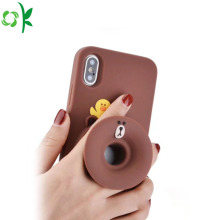 Multifunction Cartoon Silicone Phone Case for Sale