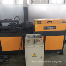 Steel bar straightening-cutting machine