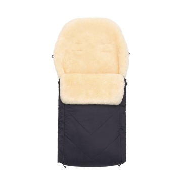 Sheepskin Footmuff for Pushchair