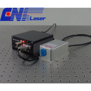 Green diode laser with narrow linewidth at 520