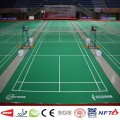 Portable fast installation PVC sports flooring