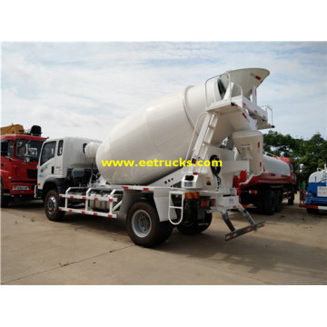 SINOTRUK 5 M3 Concrete Mixing Vehicles