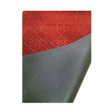 Best quality new design embossed waterproof capet