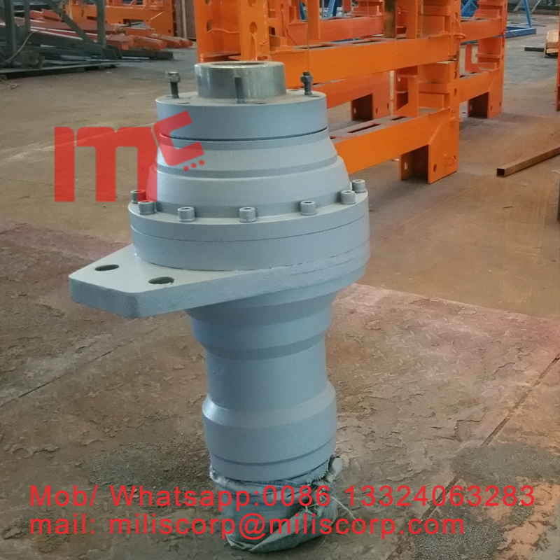 Tower crane spare part slewing motor