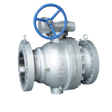 Casted Steel Trunnion Ball Valve