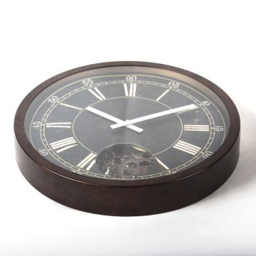 Best Quality for China Decorative Wall Clocks,Luminous Wall Clock,Wall Light Decoration Manufacturer and Supplier 16 Inch Rustic Vintage Wall Clock supply to Romania Supplier