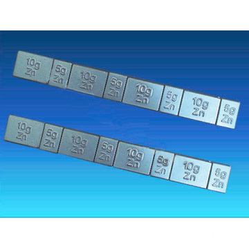 Zinc Stick-on /Adhesive Wheel Weights 5g/10gX4