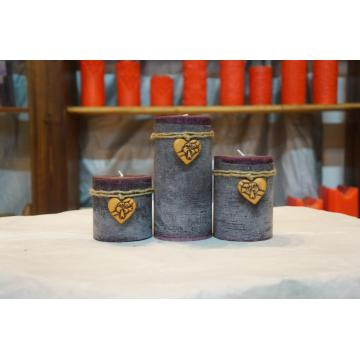 High Quality Decorative Pillar Candle