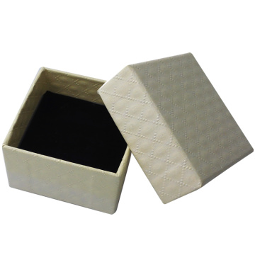 Wholesale embossing paper jewelry gift boxes