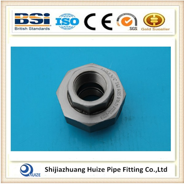 Forged Pipe Fitting Union with NPT Threaded