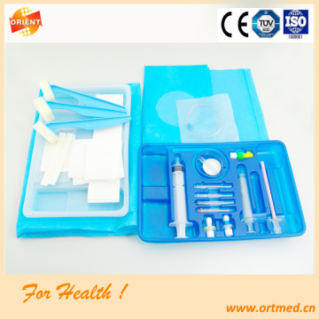 Spinal-Epidural anesthesia tray for hospital