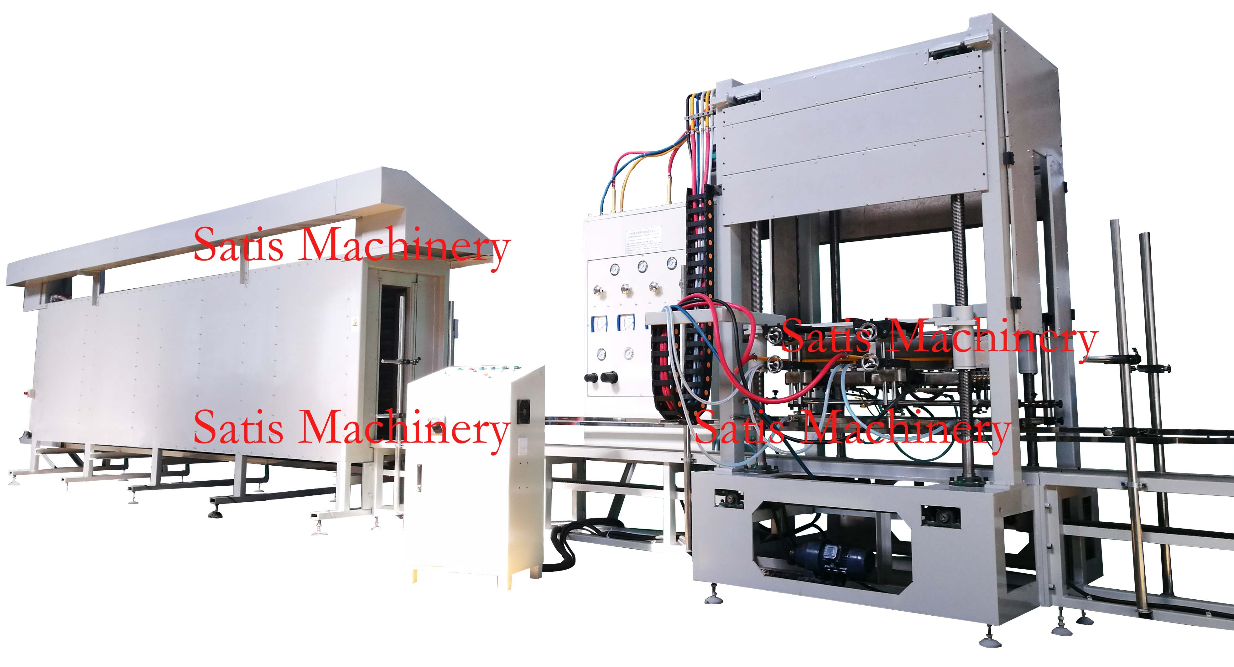 Degreasing, Drying & Brazing Machine