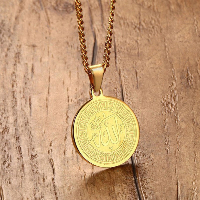 Allah Necklace Gold