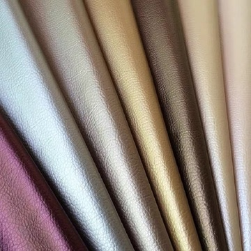 Embossed Lichee Pu Faux Leather Fabric for Sewing