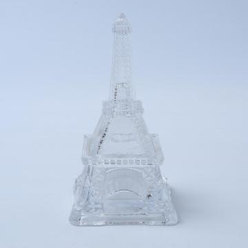 Eiffel Tower Shaped Glass Jar