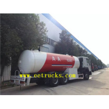 New Fashion Design for 35cbm LPG Tanker Trucks 12 MT Dongfeng Propane Tanker Trucks export to Tunisia Suppliers