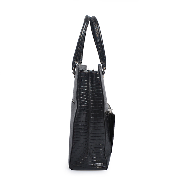 fashion ladies handbags PU crocodile pattern fashion shoulder bag office ladies fancy bags