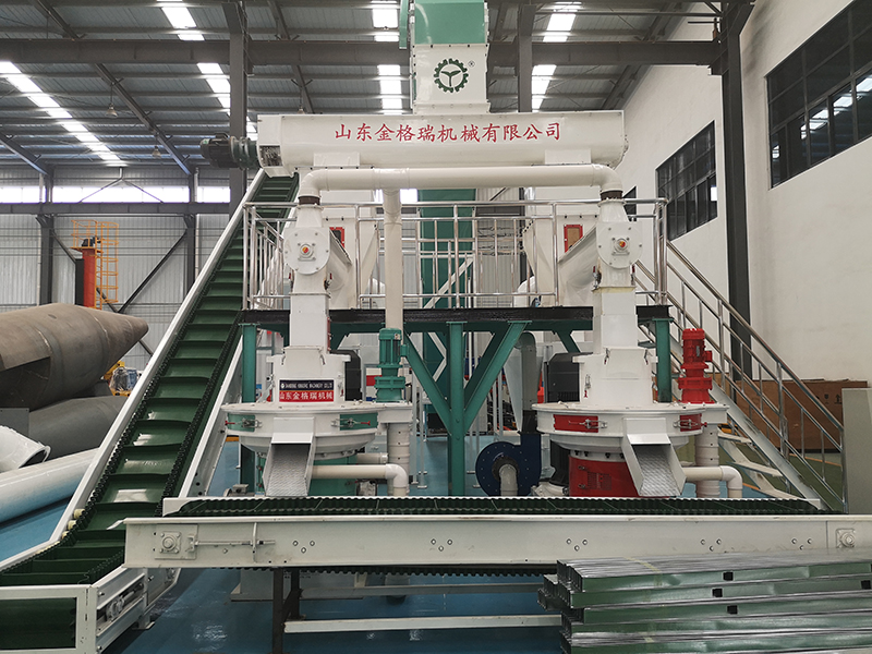 wood pellet machine surporting facilities