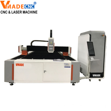 500W 750W 1000W Metal Fiber Laser Cutting Machine