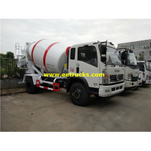 1500 Gallons 180hp Beton Mixer Vehicles