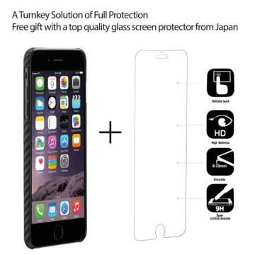Ultra Silm iPhone8 Plus Aramid Trefjar MagCase