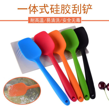 Heat Resistant Kitchen Baking Tool Silicone Spatula Spoon