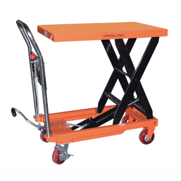 Foot Lift Drive Actuation and Scissor Lift table