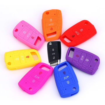 Comfortable new design car key case for VW