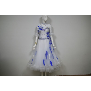 Manufacturer for Ladies Ballroom Prom Dress Salsa costumes for competition BE export to South Korea Importers