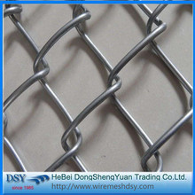 Low Price Useful Galvanized Chain Link Fence