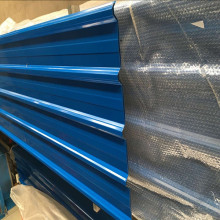 color coated corrugated zinc steel roofing sheets weight