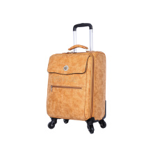 High Quality PU leather  Travel Luggage Bag