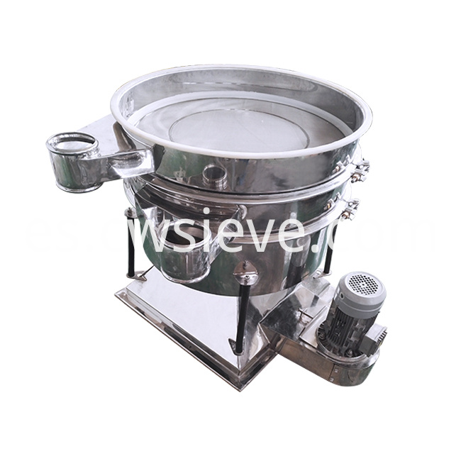 Vibratory Tumbler Screen Sieving
