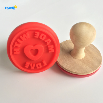 beautiful and useful  holiday Rubber cookie Stamp
