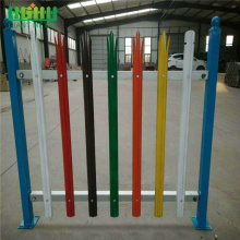 China for  Welded Low carbon steel plate palisade fence export to Mayotte Manufacturer