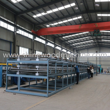 Core Veneer Roller Dryer Machine for Eucalyptus