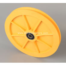 Yellow Tension Pulley for Schindler GBP Governor 59314831