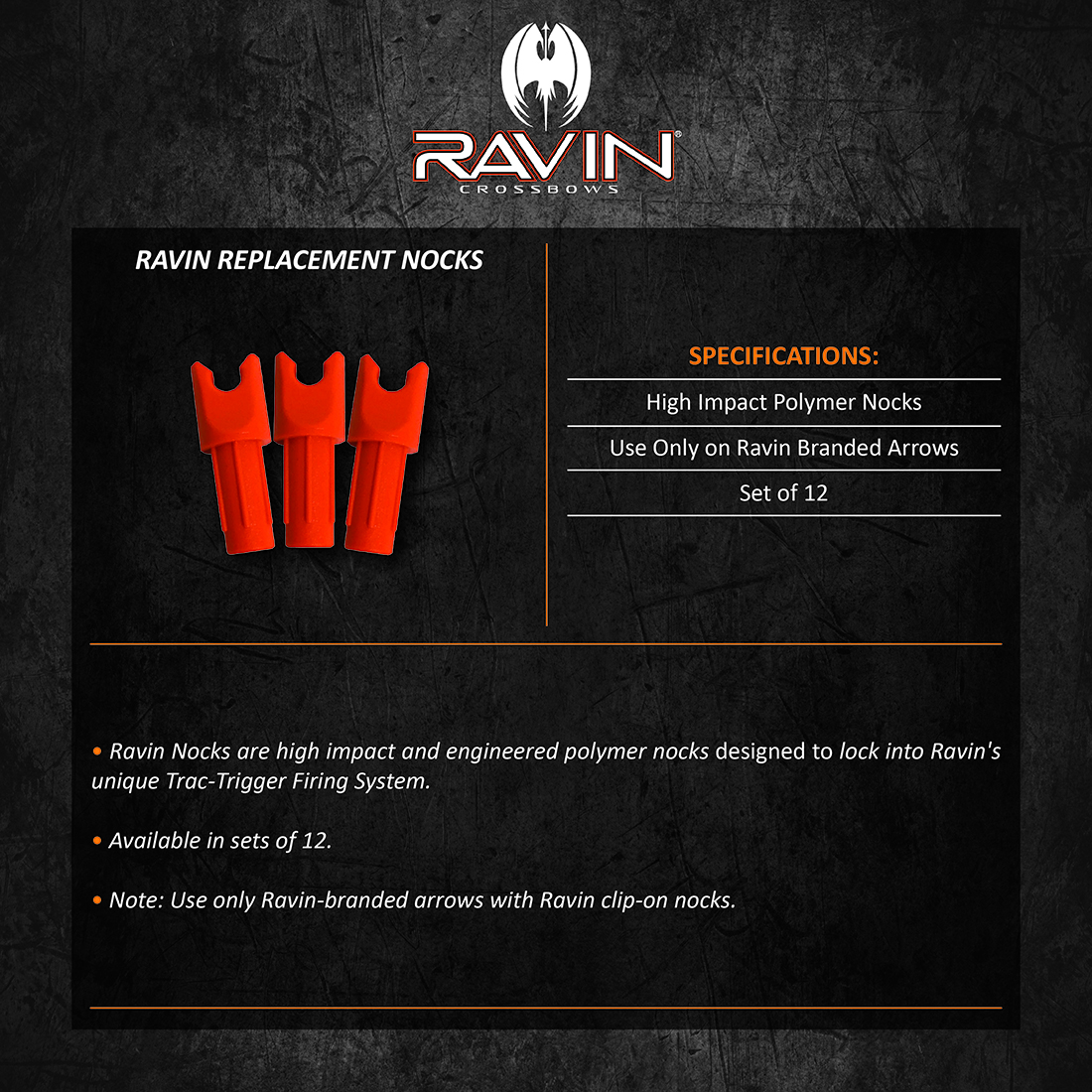 Ravin_Replacement_Nocks_Product_Description