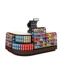 Versatile Design Supermarket Cashier Counter For Sale