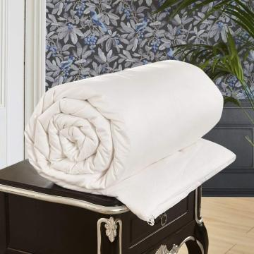 All Season White Comforter with Cotton Cover