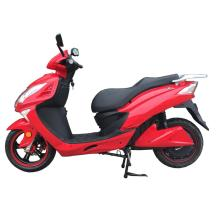 Two tyre huge bright red electric motorcycle