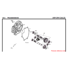 E14 TRANSMISSION FIDDLE 125 AW05W-C For SYM Spare Part Top Quality