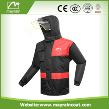 Men Waterproof PU Rain Suit