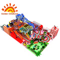 Rainbow Candy Indoor Playground Equipment For Sale
