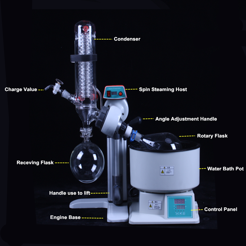 RE-2000 series mini 2l rotary evaporator