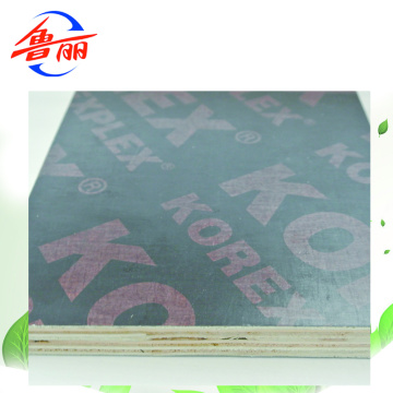CE certificate film faced plywood EUTR document