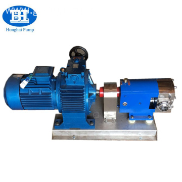 Food Grade Sanitary Rotary Lobe Pump