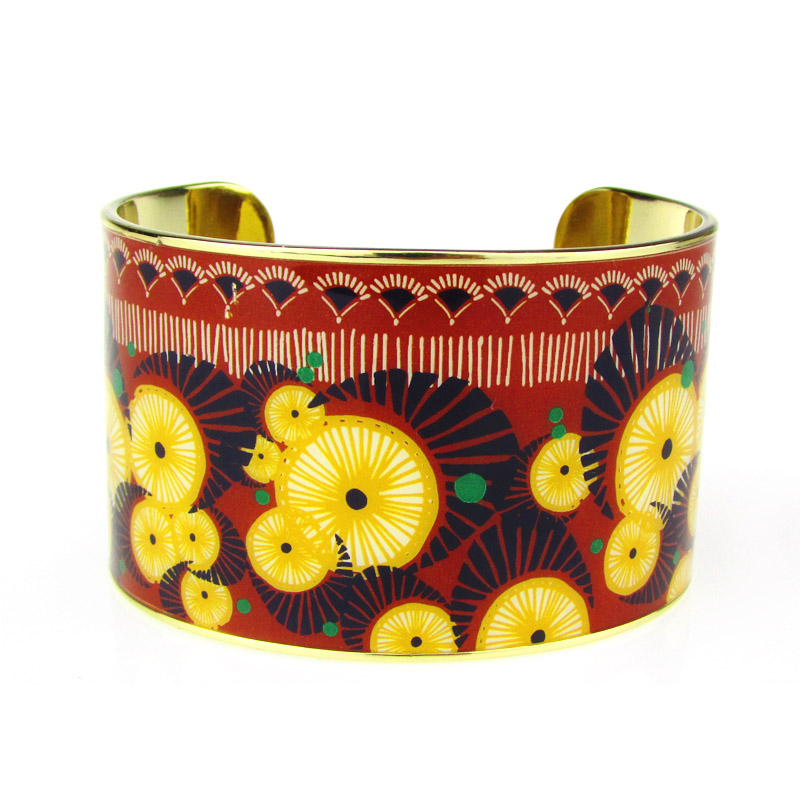 Gold Plated Cuff Bracelet